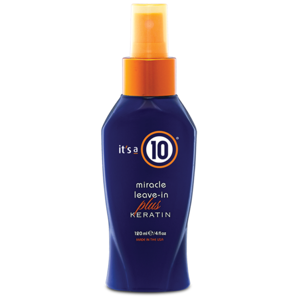 it's a 10 miracle leave-in conditioner potion plus keratin